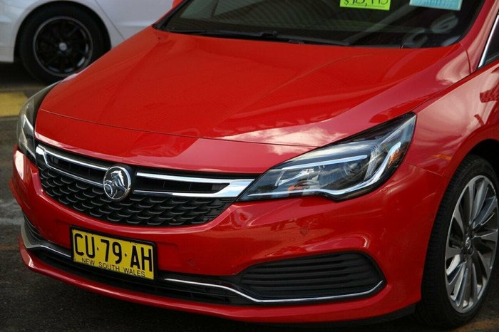 2017 Holden Astra RS BK MY17 Red