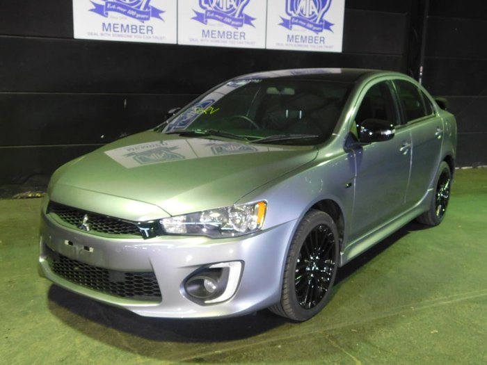 2017 Mitsubishi Lancer Black Edition CF MY17 Grey