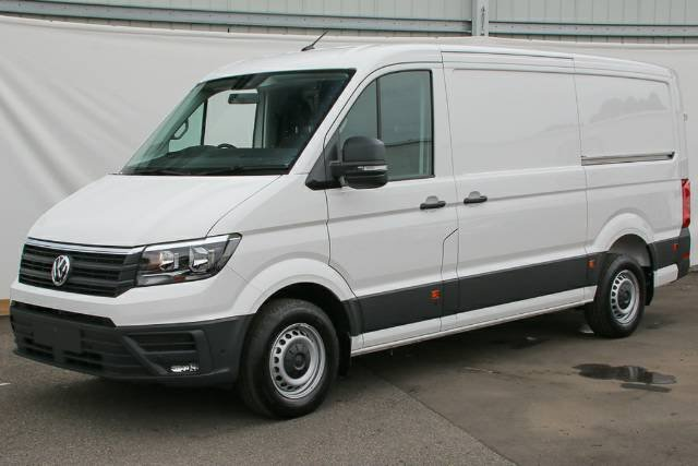 2019 Volkswagen Crafter 35 TDI340 SY1 MY19 CANDY WHITE