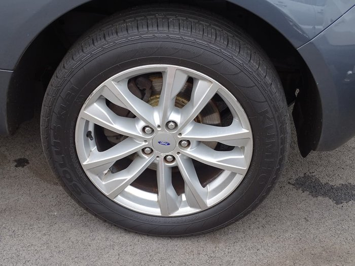 2013 Ford Territory TS SZ Grey