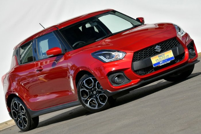 2018 Suzuki Swift Sport AZ BURNING RED