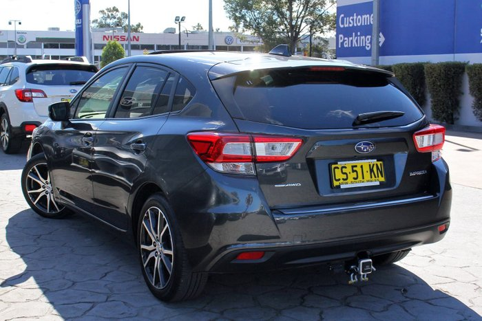 2018 Subaru Impreza 2.0i Premium G5 MY19 Four Wheel Drive Grey