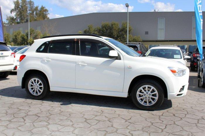 2010 Mitsubishi ASX XA MY11 White