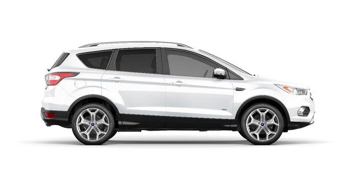 2018 Ford Escape Titanium ZG MY18.75 4X4 On Demand White
