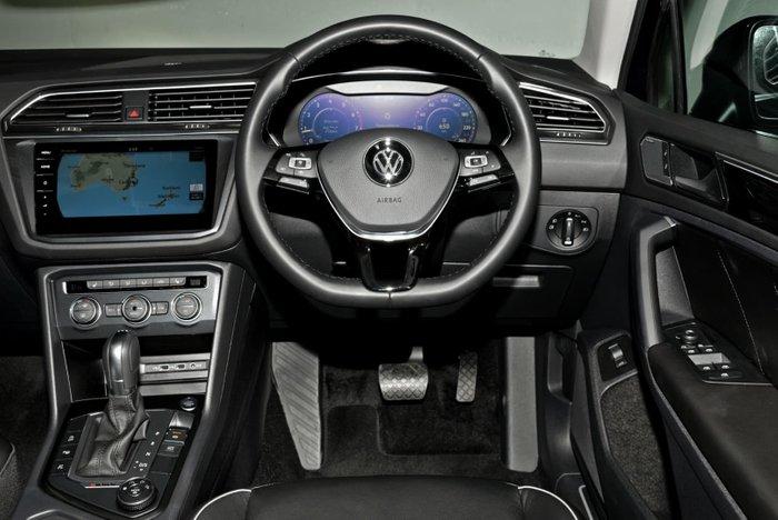 2018 Volkswagen Tiguan 162TSI Highline 5N MY19 Four Wheel Drive Blue