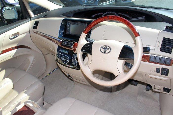 2014 Toyota Tarago Ultima GSR50R MY13 White