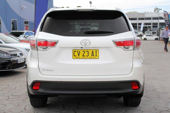 2015 Toyota Kluger GXL GSU50R White