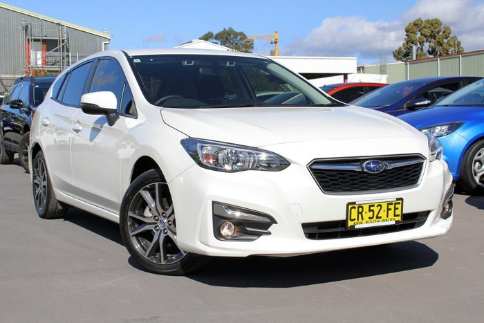2018 Subaru Impreza 2.0i-L G5 MY18 Four Wheel Drive White