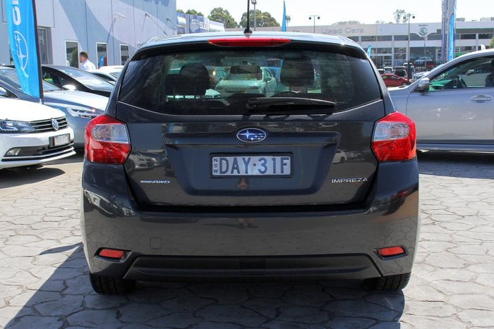 2015 Subaru Impreza 2.0i G4 MY14 Four Wheel Drive Grey