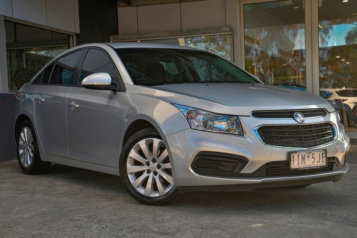 2016 Holden Cruze Equipe JH Series II MY16 Silver