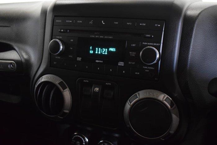 2012 Jeep Wrangler Sport JK MY12 4X4 White
