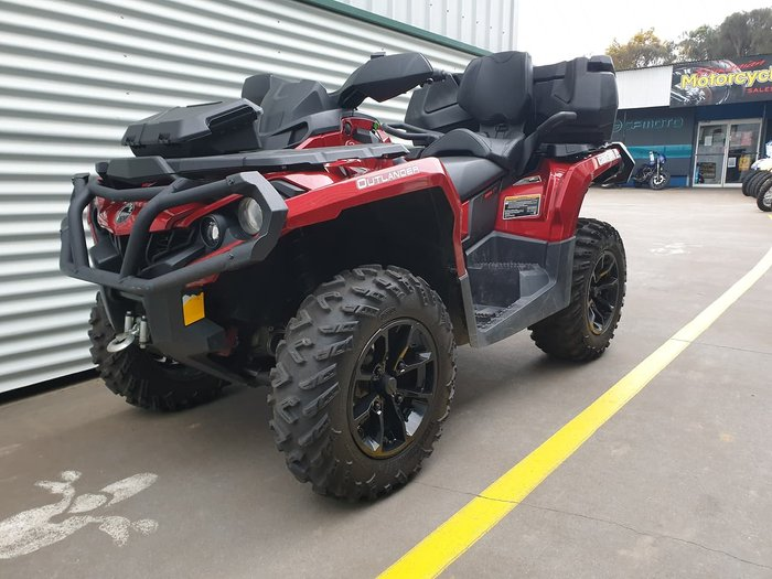 2018 CAN-AM OUTLANDER MAX 650 XT null null Red