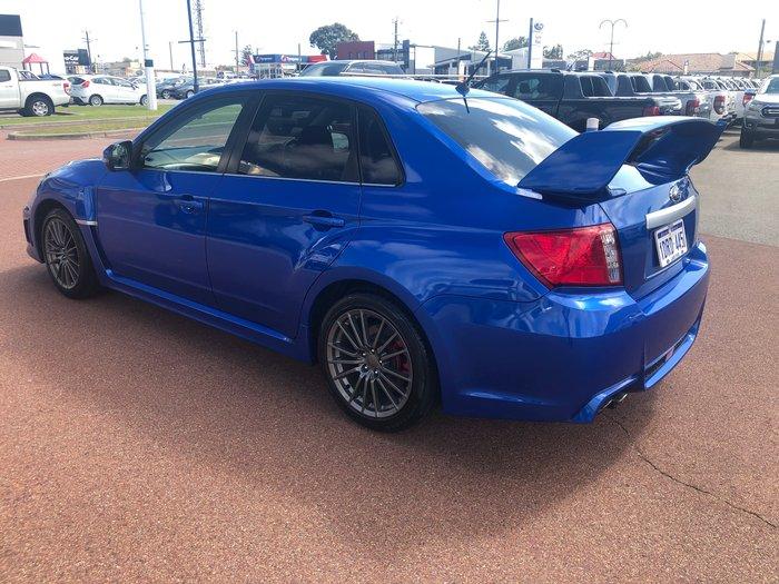 2011 Subaru Impreza WRX G3 MY11 Four Wheel Drive Blue