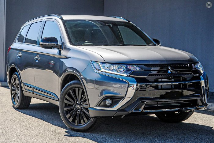 2019 Mitsubishi Outlander Black Edition ZL MY20 Grey