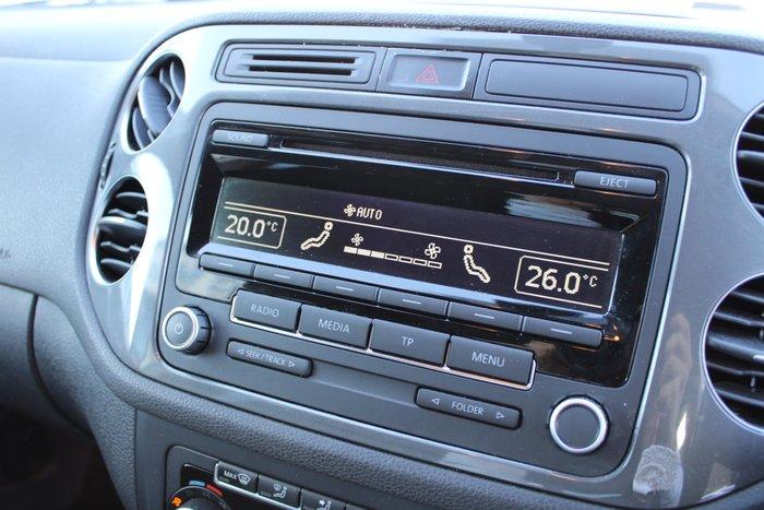 2014 Volkswagen Tiguan 132TSI Pacific 5N MY14 Four Wheel Drive Silver