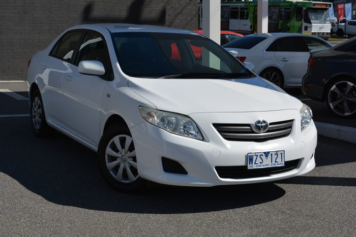 2009 Toyota Corolla Ascent ZRE152R White
