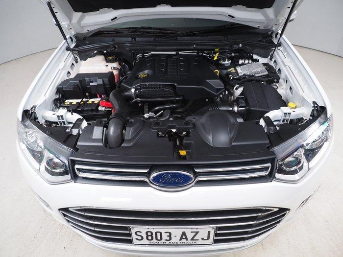2014 Ford Territory Titanium SZ White
