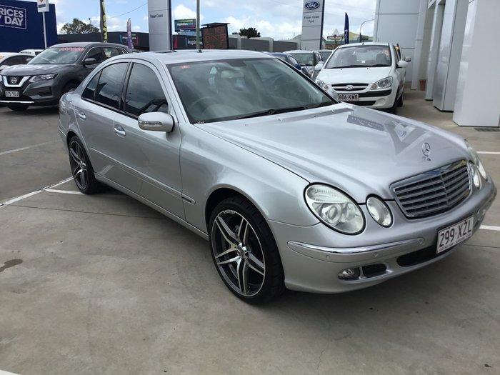 2005 Mercedes-Benz E-Class E350 Elegance W211 Silver