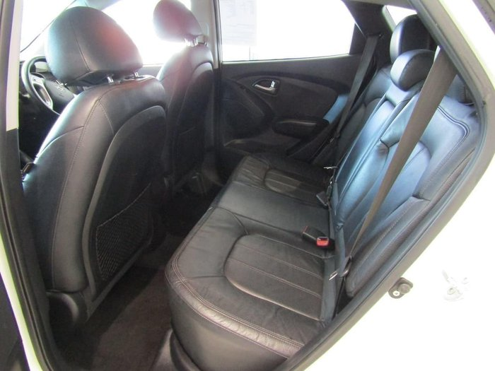 2010 Hyundai ix35 Highlander LM MY11 Four Wheel Drive Cotton White