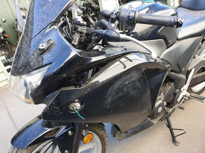 2012 HONDA CBR250R null null Black
