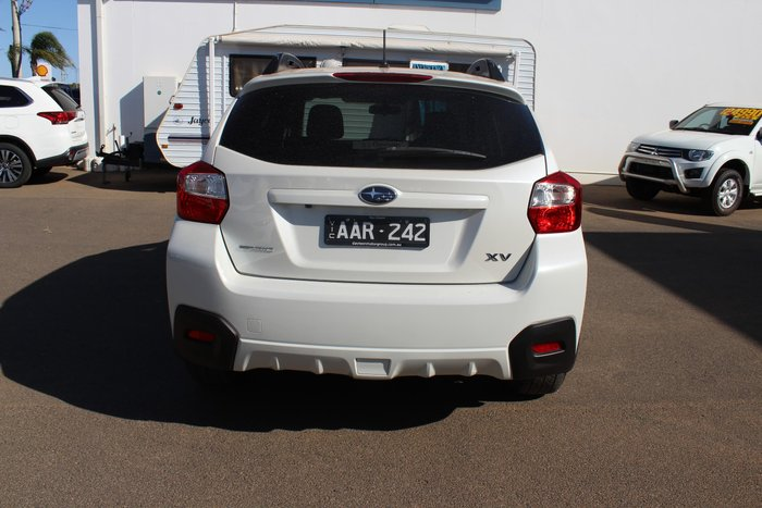 2013 Subaru XV 2.0i-L G4X MY13 Four Wheel Drive White
