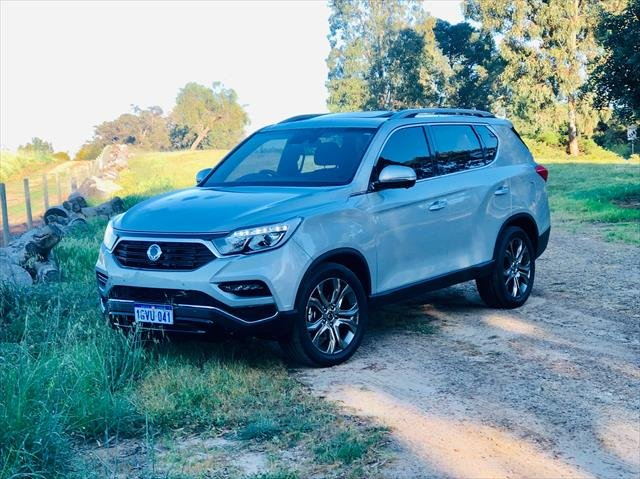 2019 SSANGYONG REXTON ULTIMATE REXTON Ultimate AWD Auto 2.2Lt Diesel MY18 Fine Silver