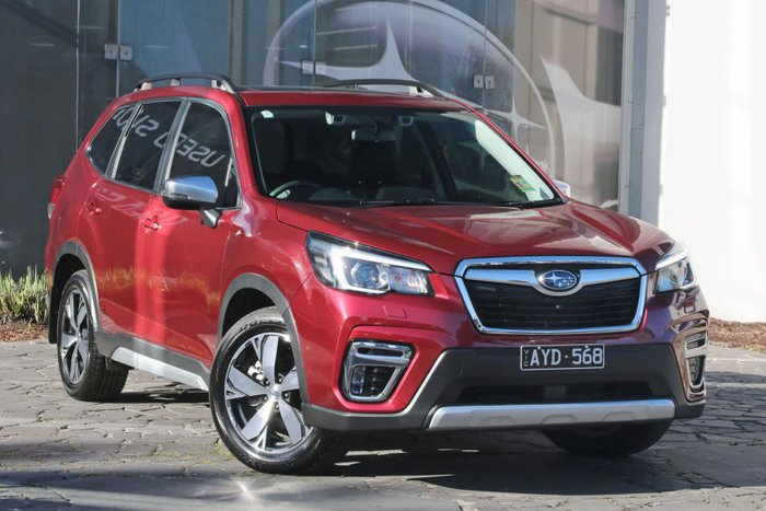 2018 Subaru Forester 2.5i-S S5 MY19 Four Wheel Drive Red