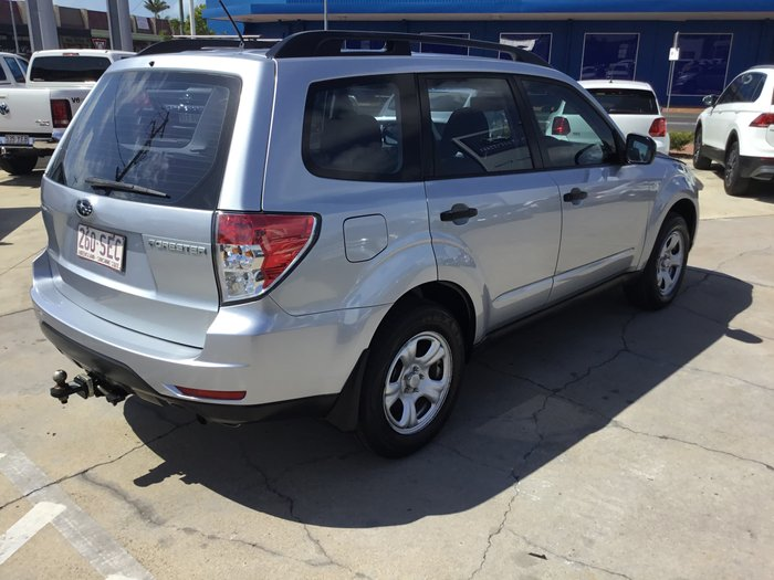 2011 Subaru Forester X S3 MY12 Four Wheel Drive Silver