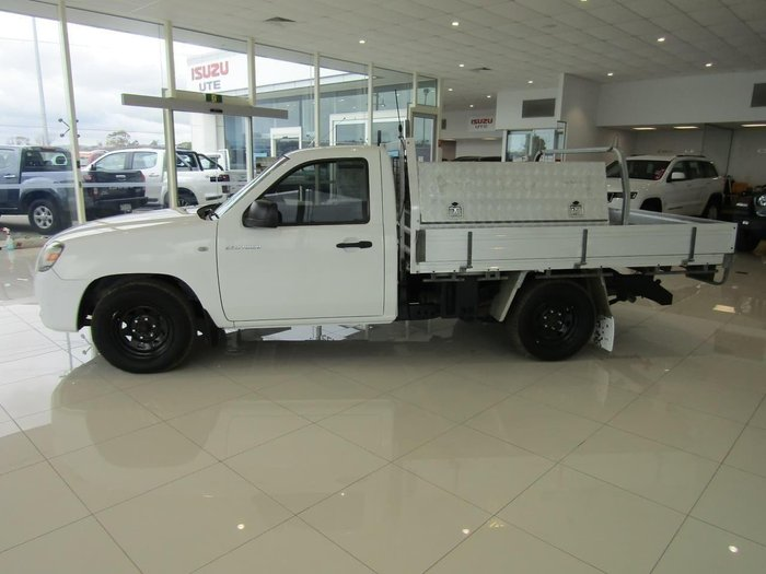 2008 Mazda BT-50 DX UNY0W3 Cool White
