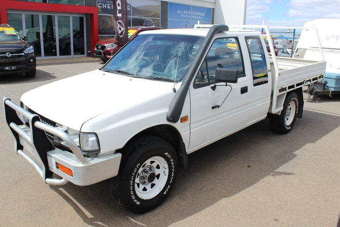 1995 Holden Rodeo LS TF White