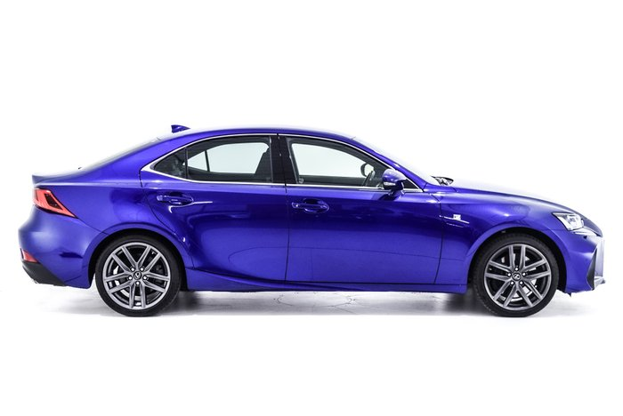 2015 Lexus IS IS350 F Sport GSE31R Blue