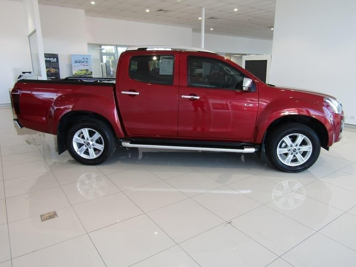 2018 Isuzu D-MAX LS-T High Ride MY18 Magnetic Red
