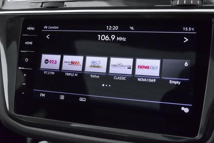 2018 Volkswagen Tiguan 140TDI Highline 5N MY18 Four Wheel Drive Silver