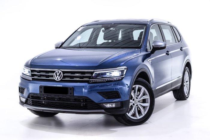 2019 Volkswagen Tiguan 132TSI Comfortline Allspace 5N MY19.5 Four Wheel Drive Blue