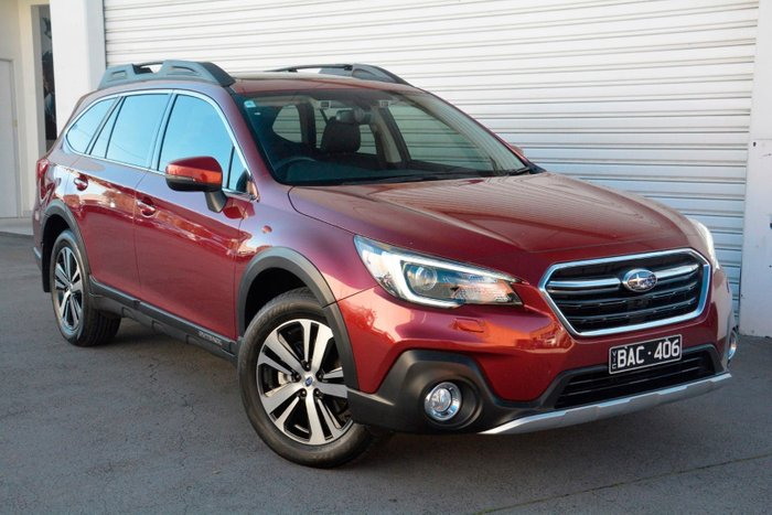 2018 Subaru Outback 2.5i Premium 5GEN MY18 Four Wheel Drive Red