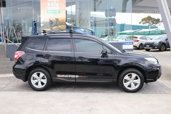 2013 Subaru Forester 2.5i-L S4 MY13 Four Wheel Drive Black