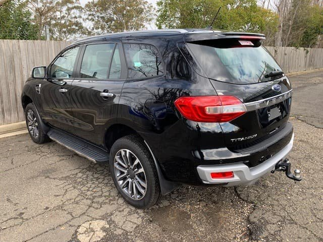 2018 Ford Everest Titanium UA II MY19 4X4 Dual Range Black