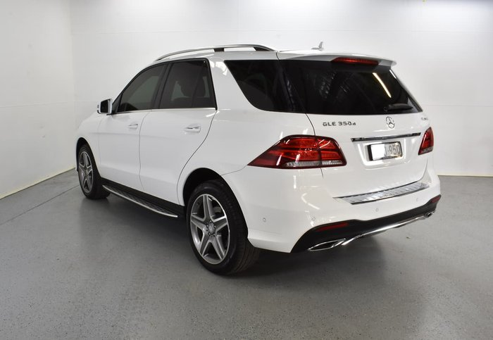 2015 Mercedes-Benz GLE350 d W166 Four Wheel Drive White
