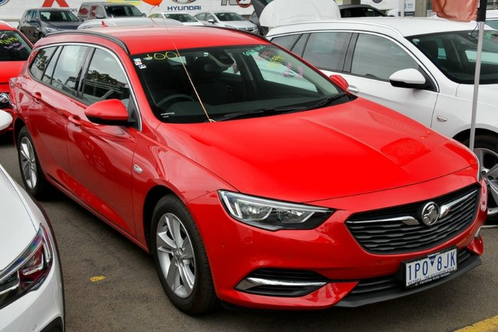 2017 Holden Commodore LT ZB MY18 ABSOLUTE RED