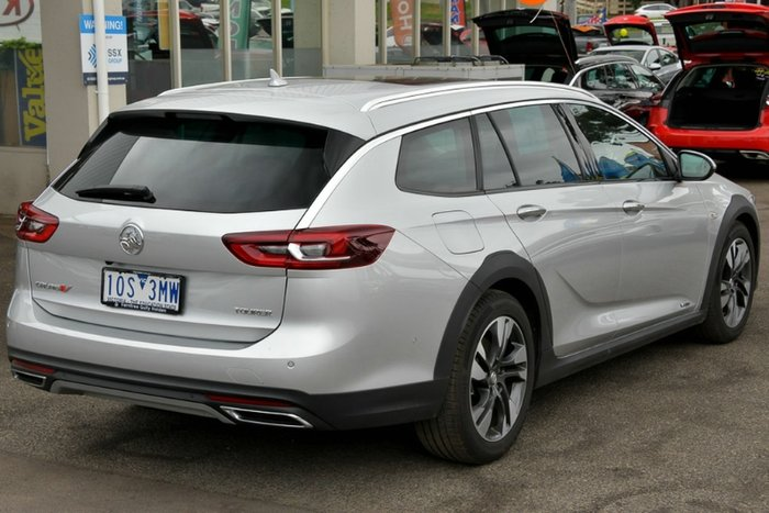 2018 Holden Calais V ZB MY18 4X4 On Demand SILVER