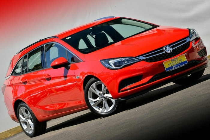2018 Holden Astra LT BK MY18 ABSOLUTE RED