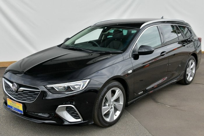 2018 Holden Commodore RS-V ZB MY18 4X4 On Demand MINERAL BLACK