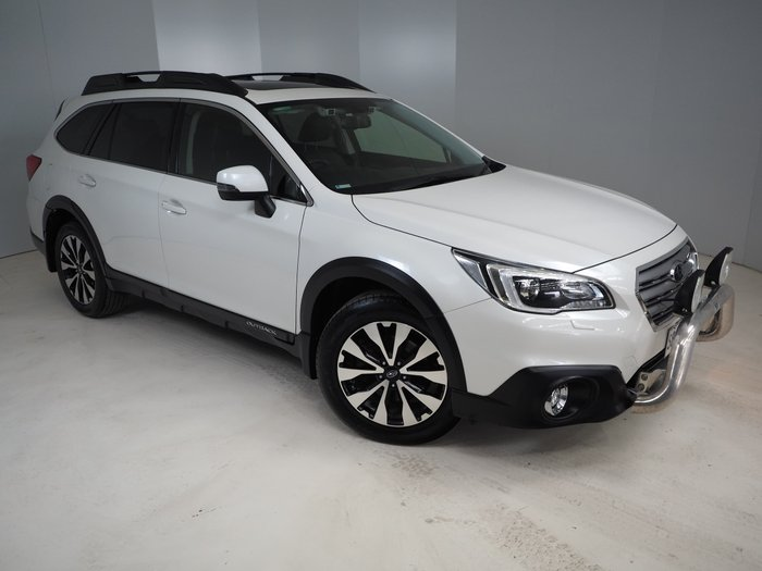 2016 Subaru Outback 2.0D Premium 5GEN MY17 Four Wheel Drive White