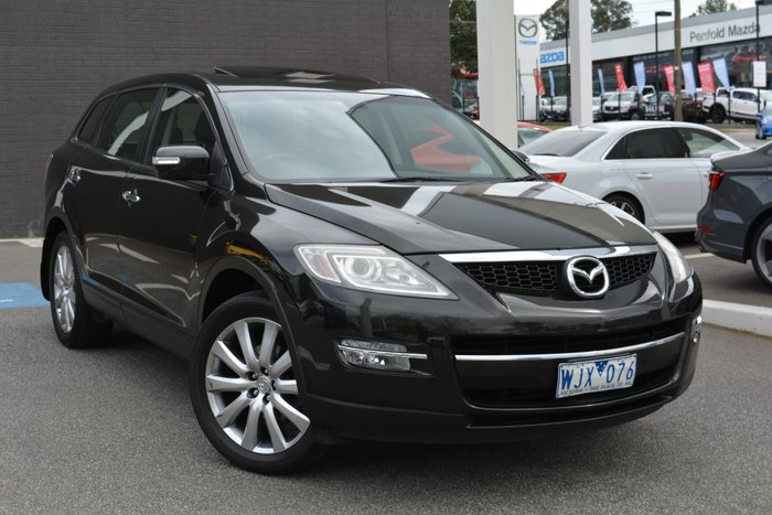 2008 Mazda CX-9 Luxury TB Series 1 Four Wheel Drive Black