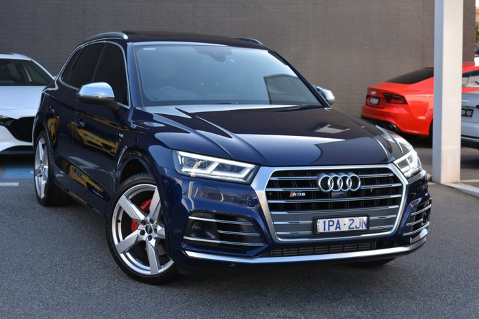 2017 Audi SQ5 FY MY17 Four Wheel Drive Blue
