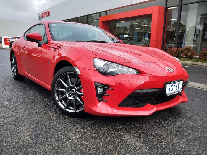 2018 Toyota 86 GTS ZN6 Red