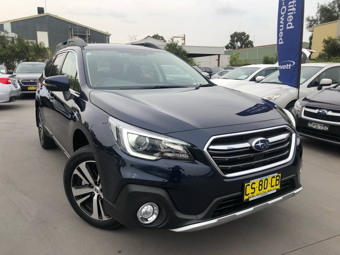 2018 Subaru Outback 2.5i 5GEN MY18 Four Wheel Drive Blue