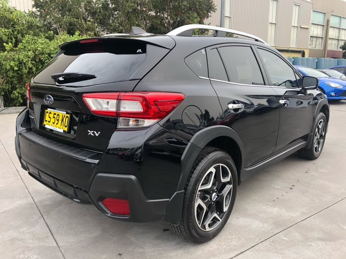 2018 Subaru XV 2.0i-S G5X MY19 Four Wheel Drive Black