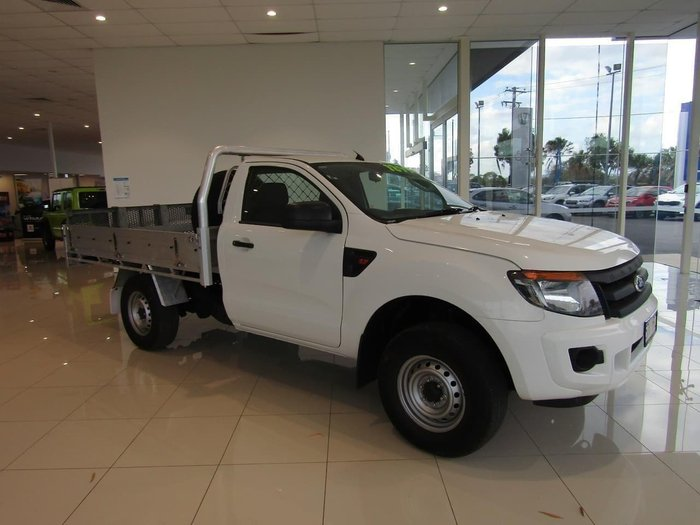 2013 Ford Ranger XL PX Cool White