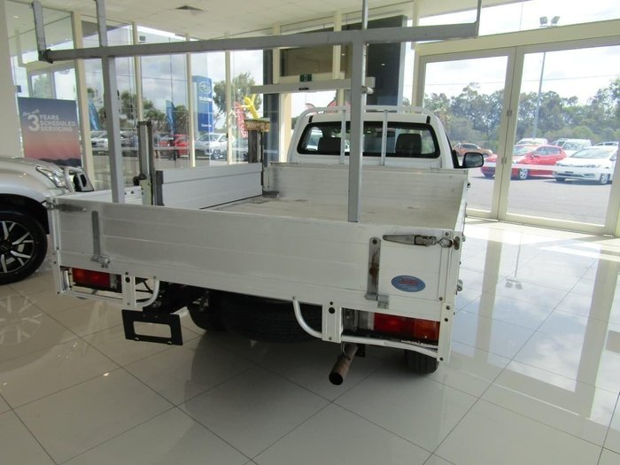 2015 Toyota Hilux Workmate TGN16R MY14 White
